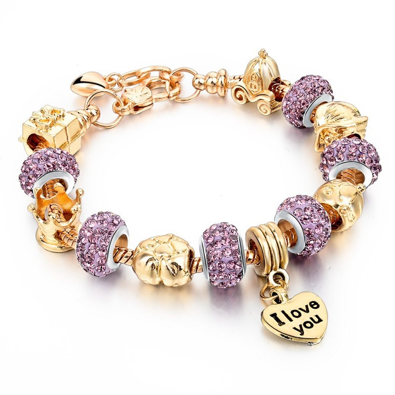 Ericdress Romantic Diamante Female Bracelets