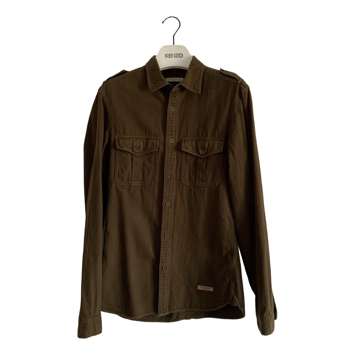 Burberry - Chemises   pour homme en coton - kaki