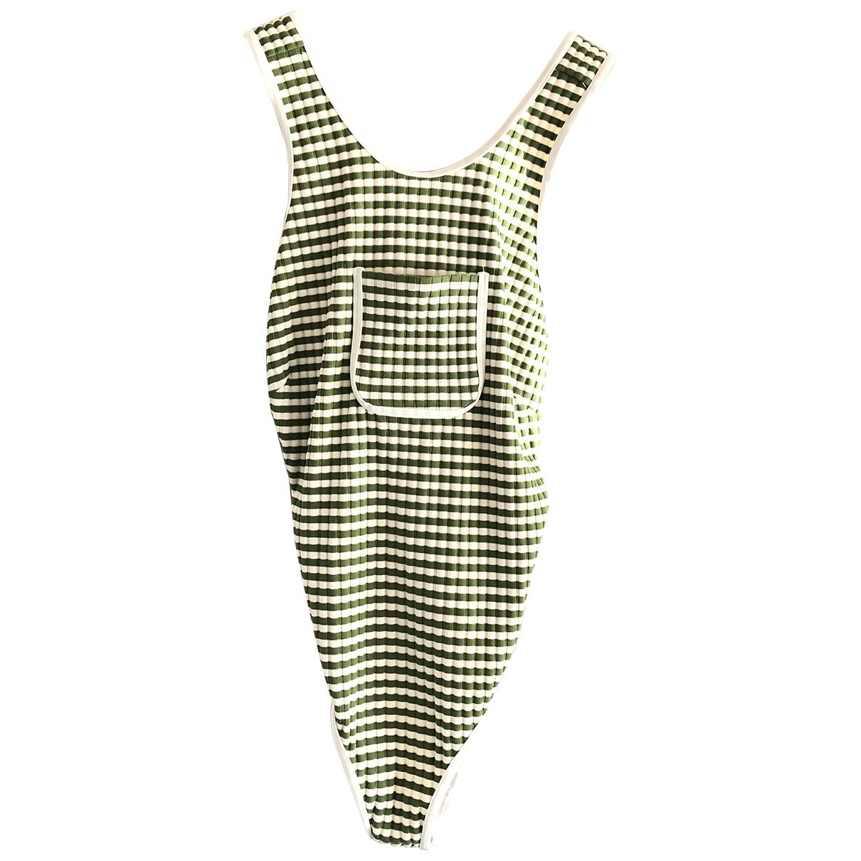 Solid & Striped \N Badeanzug in  Gruen Polyester