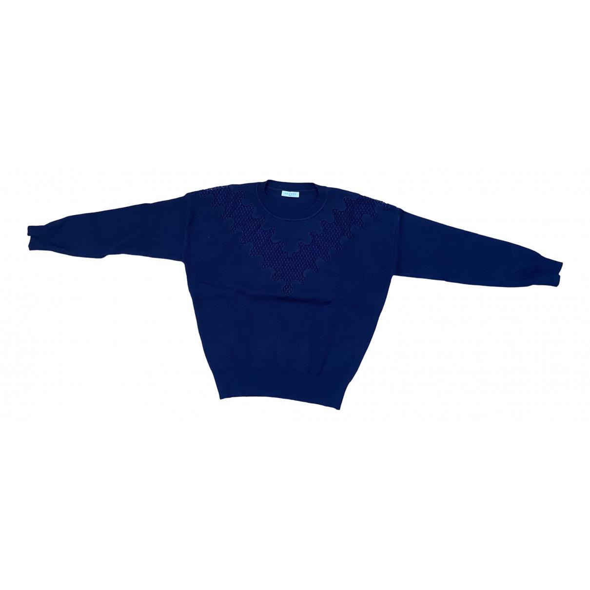 Sandro Fall Winter 2019 Blue Knitwear for Women 1 US