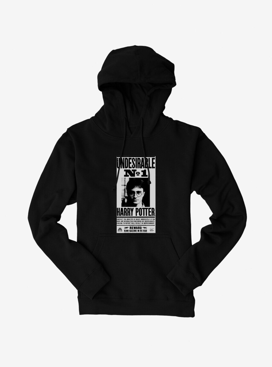 Harry Potter Undesirable No. 1 Warrant Hoodie