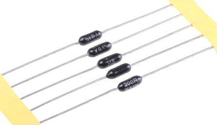 TE Connectivity 200Ω Metal Film Resistor 0.25W ±0.1% H8200RBYA (5)