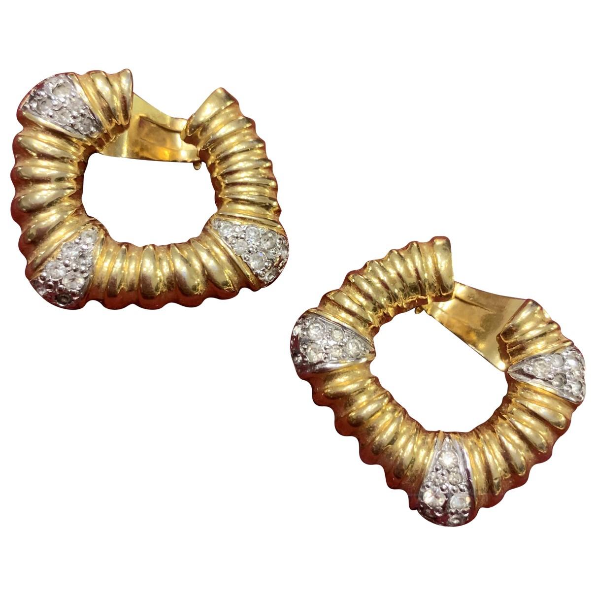 Valentino Garavani - Boucles doreilles   pour femme en metal - dore