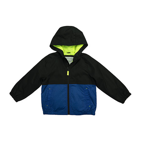 Carter's Baby Boys Hooded Midweight Jacket, 12 Months , Black