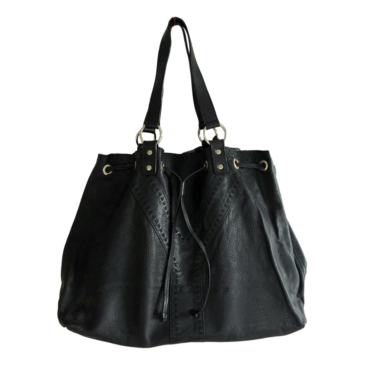 Yves Saint Laurent \N Black Leather handbag for Women \N