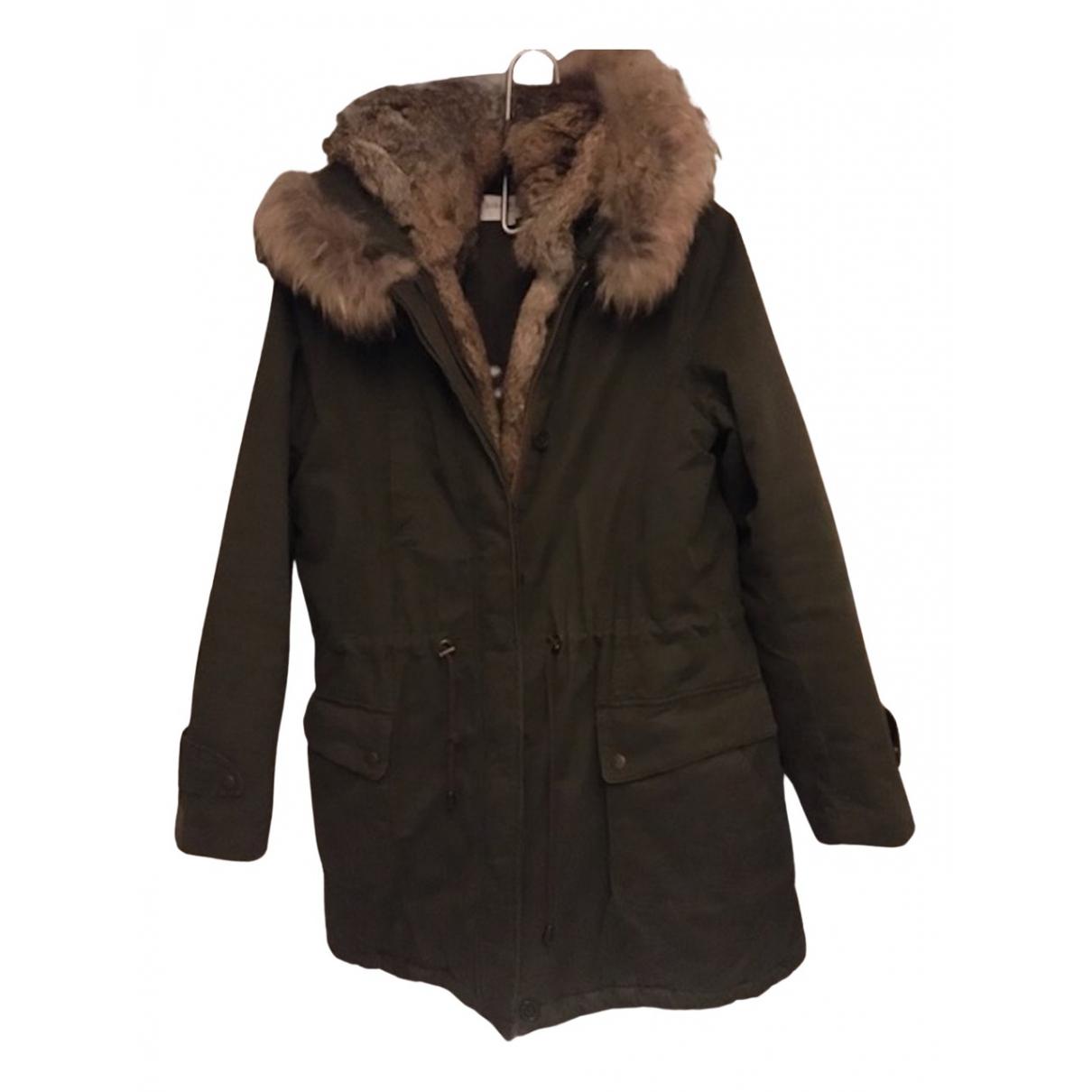 Gerard Darel N Khaki Cotton coat for Women 3 0-5