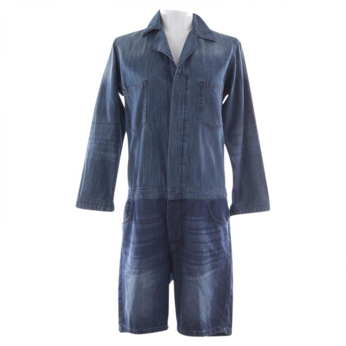 Ba&sh \N Blue Cotton jumpsuit for Women 36 FR