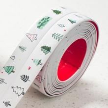 1 pieza cinta de separacion impermeable con estampado de arbol
