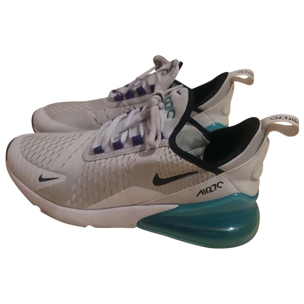 Nike - Baskets Air Max 270  pour femme en toile - gris