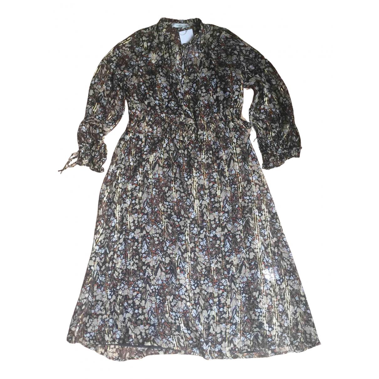 Munthe \N Kleid in  Bunt Seide
