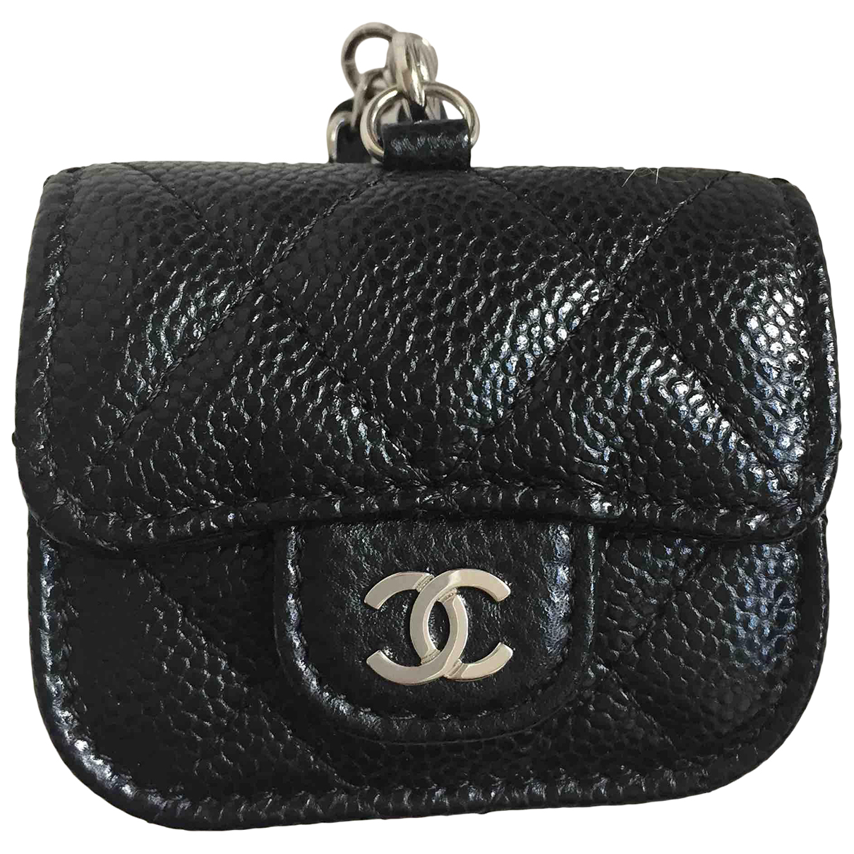 Chanel N Black Leather Accessories for Life & Living N