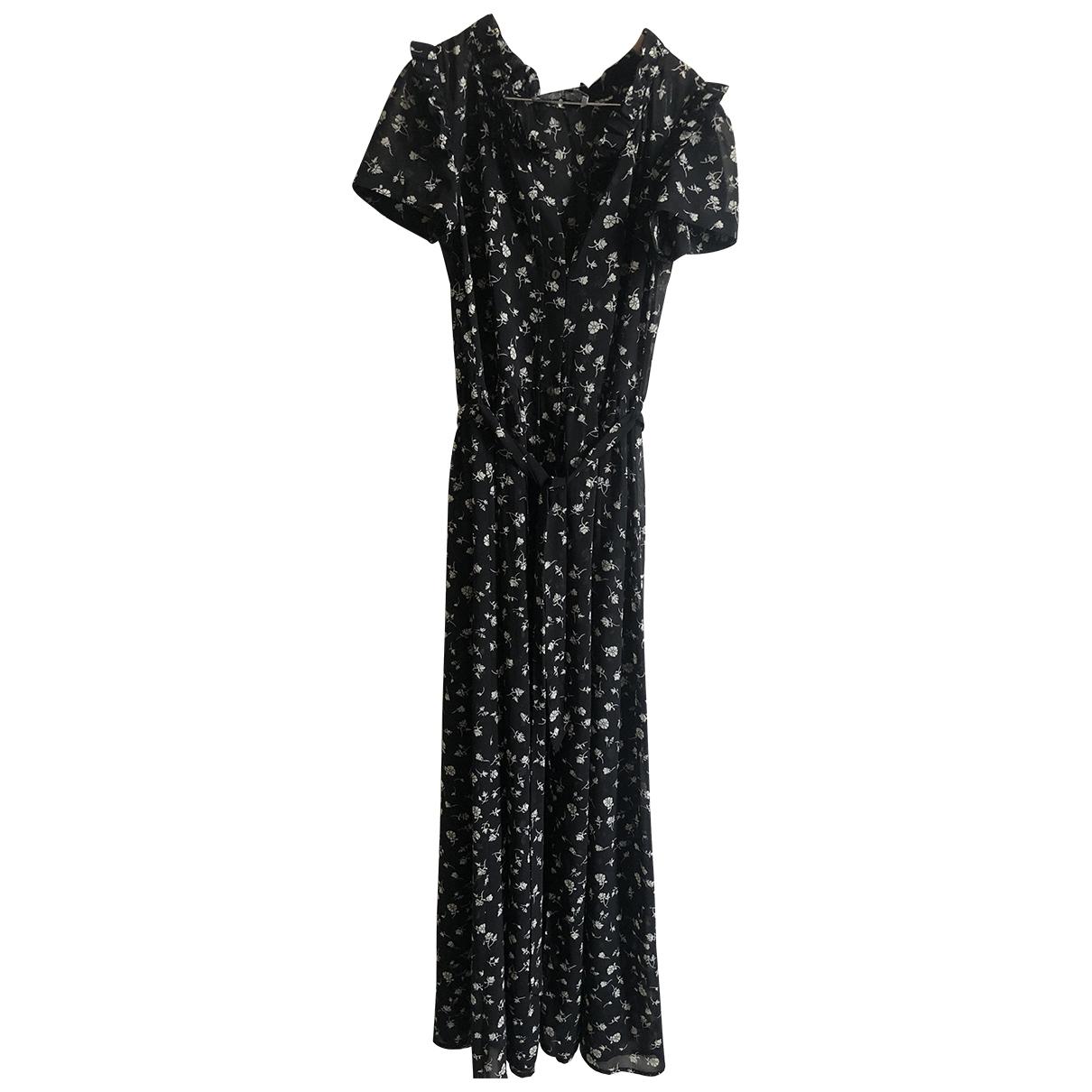 Wildfox \N Kleid in  Schwarz Polyester