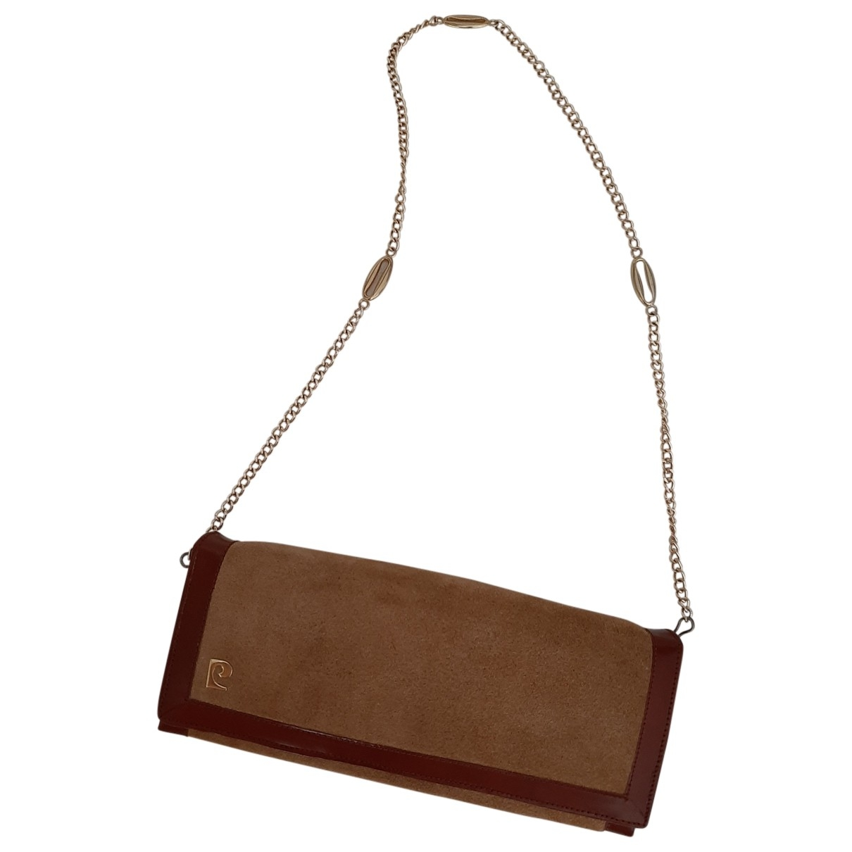 Pierre Cardin \N Camel Suede Clutch bag for Women \N