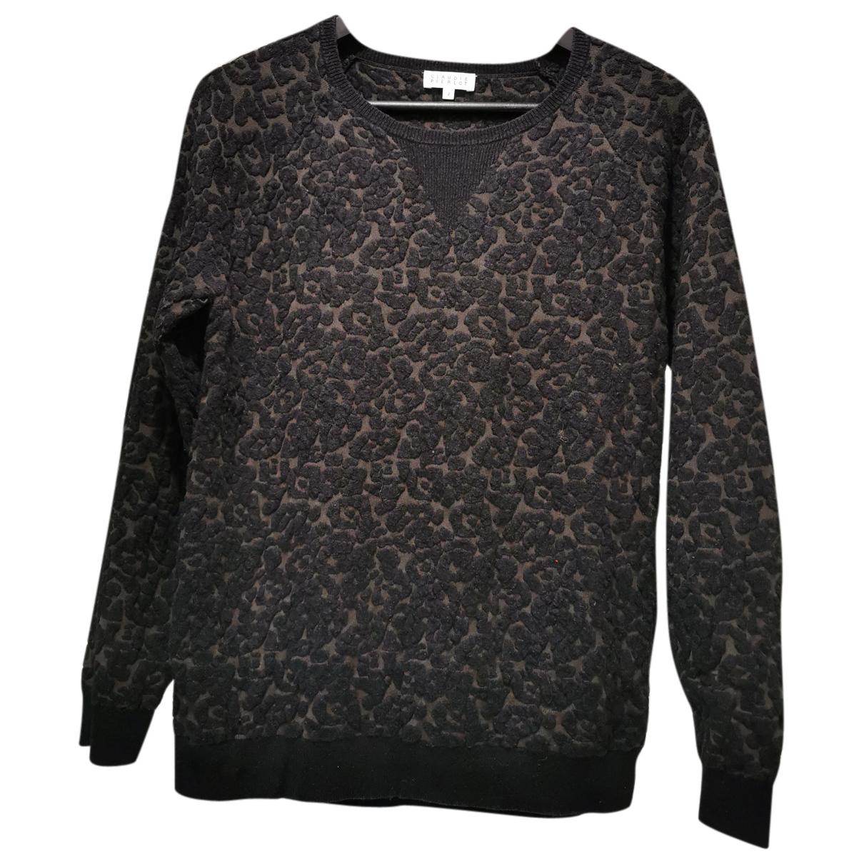 Claudie Pierlot N Black Cotton Knitwear for Women 2 US