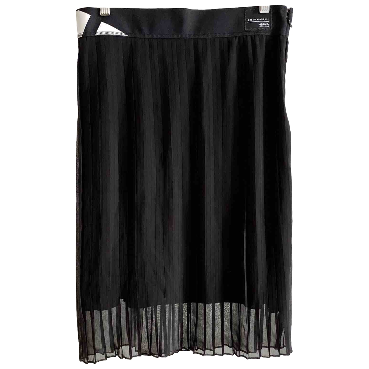 Adidas - Jupe   pour femme en coton - noir