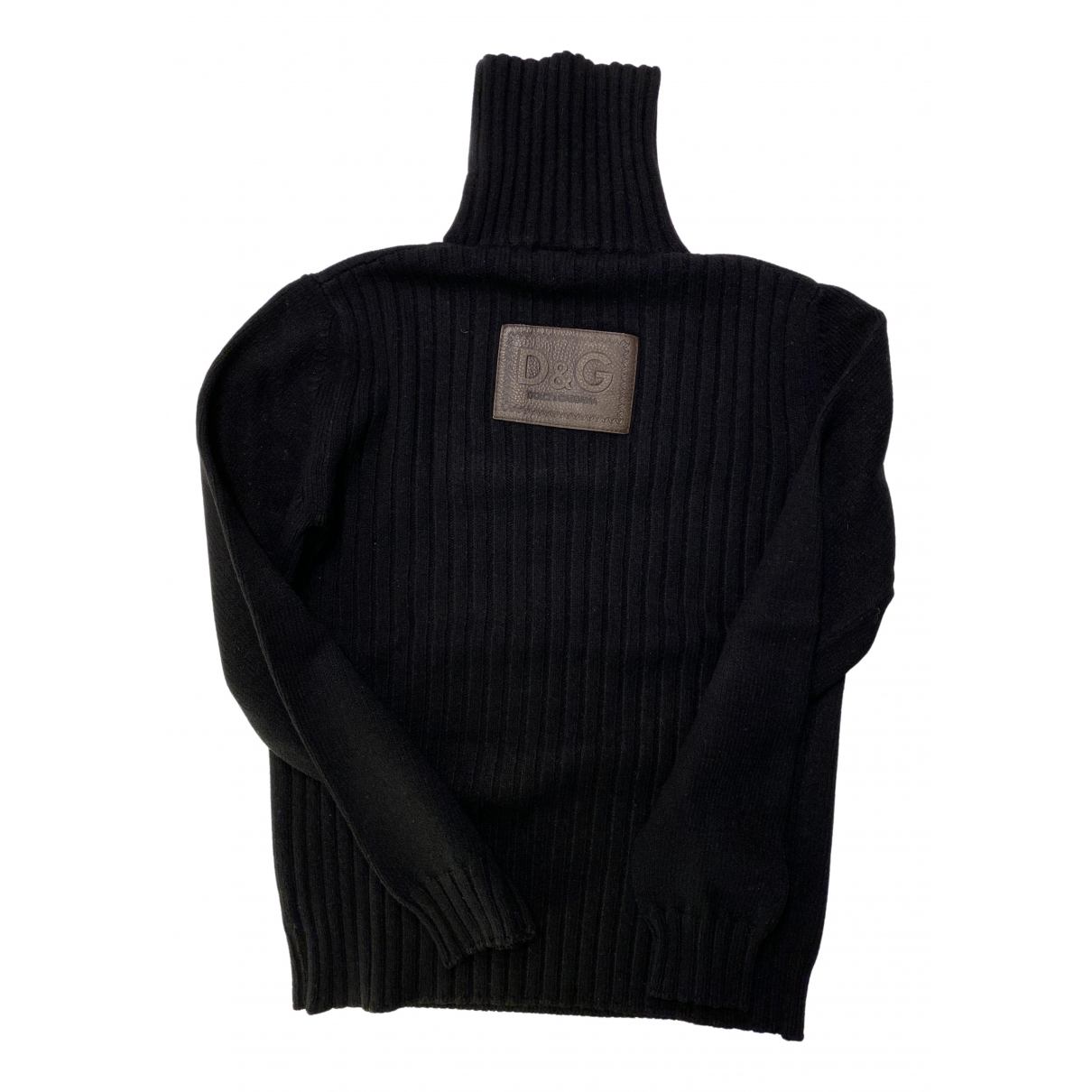 D&g \N Black Knitwear & Sweatshirts for Men M International