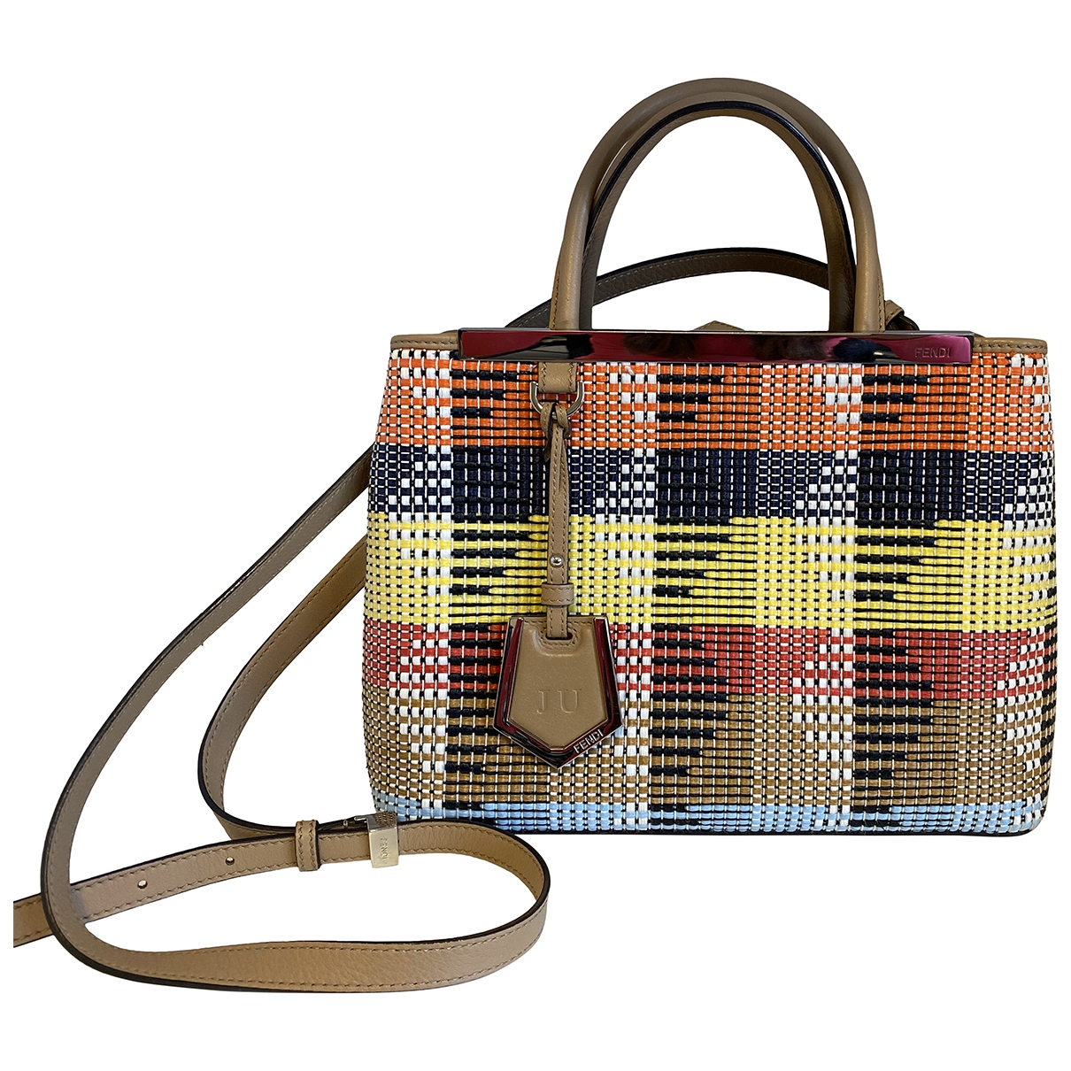 Fendi 2Jours Multicolour Tweed handbag for Women \N