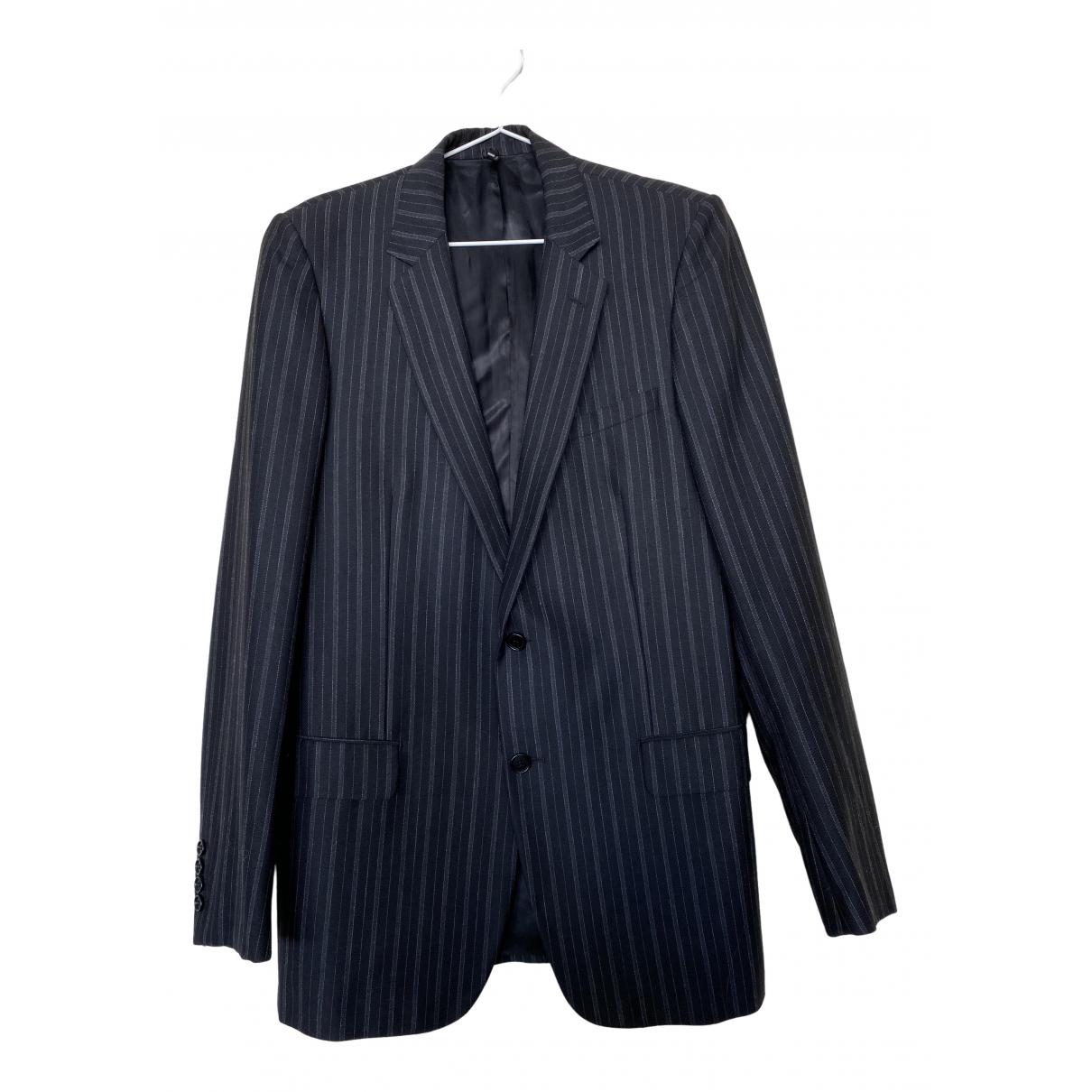 Dior Homme - Vestes.Blousons   pour homme en laine - bleu