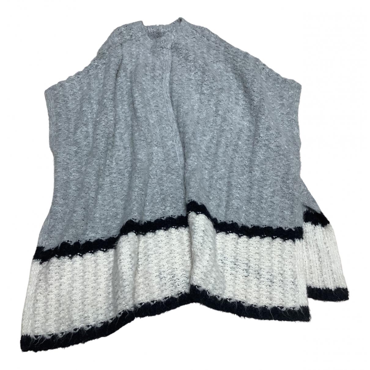 Elizabeth And James - Pull   pour femme en laine - gris