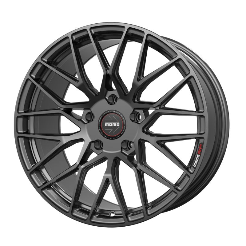 MOMO 20D912049BG1 RF-20 Series Wheels 19x12 Deep 5x120.65 +49 Gunmetal Gloss
