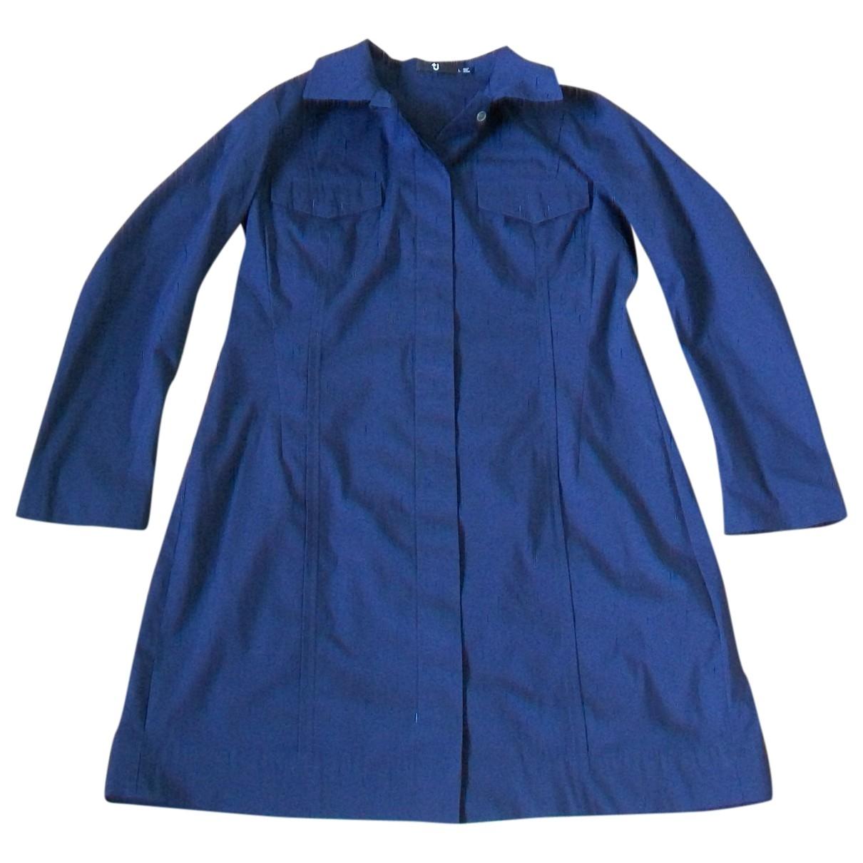 Uniqlo \N Navy Cotton dress for Women L International