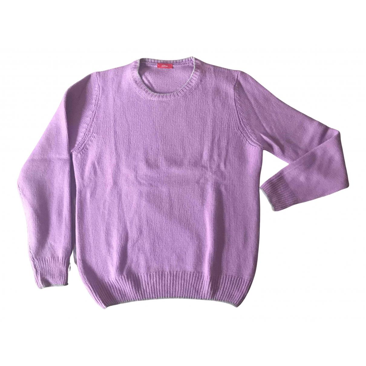 Altea \N Pullover.Westen.Sweatshirts  in  Lila Wolle