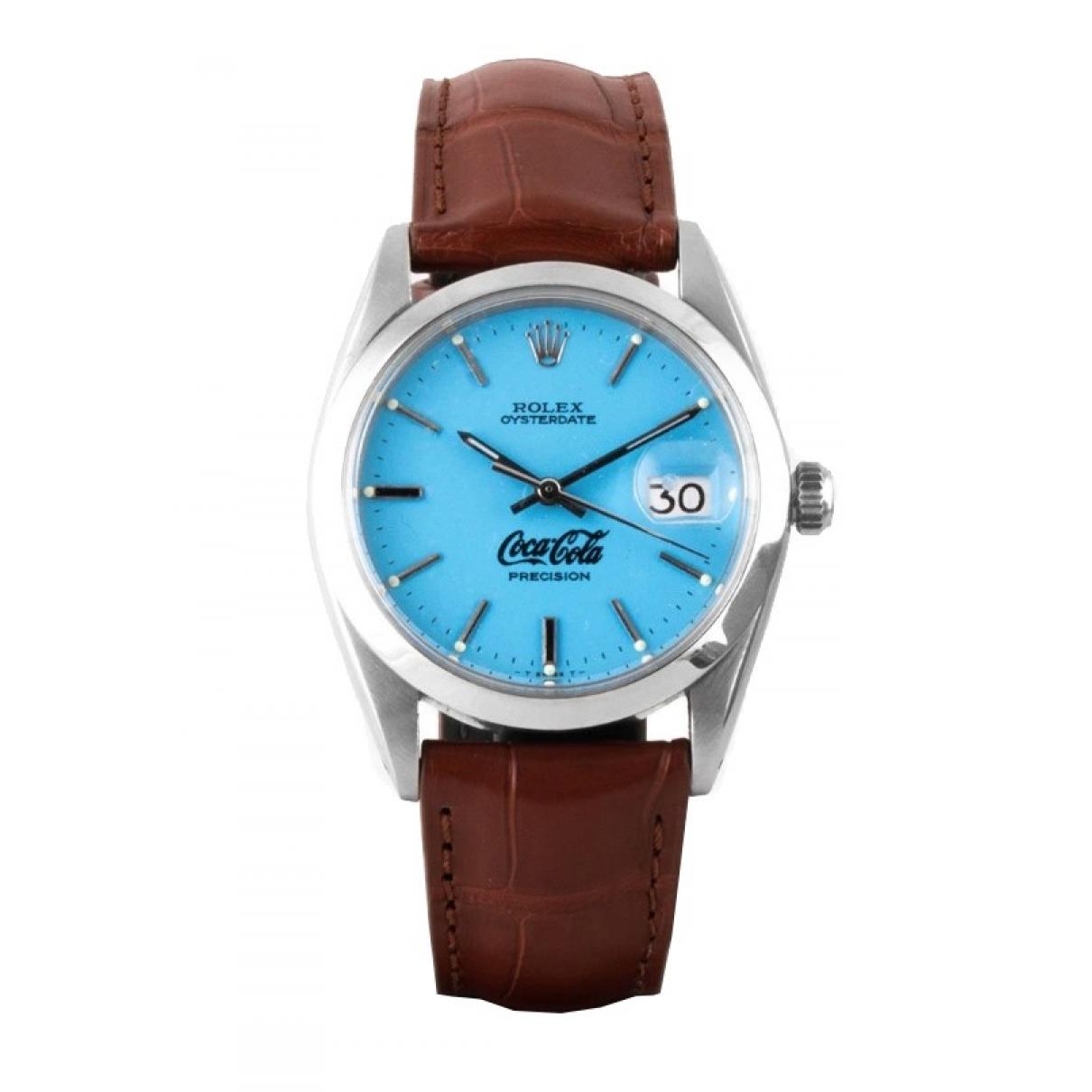 Rolex Oyster Perpetual 34mm Khaki Steel watch for Women 34 EU