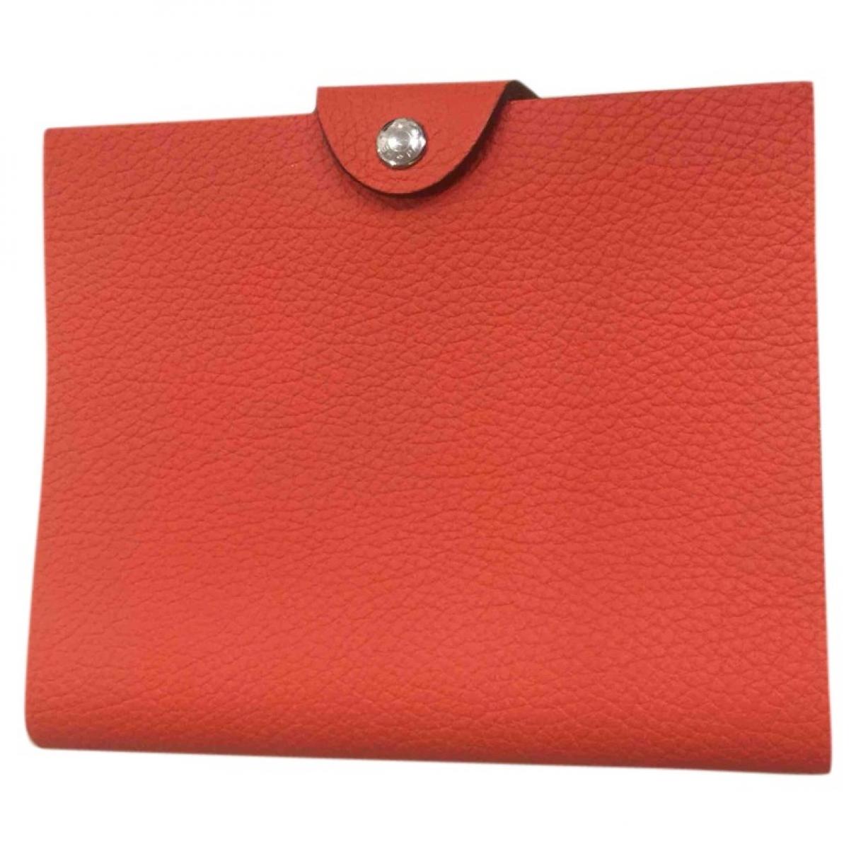 Hermes - Objets & Deco Ulysse PM pour lifestyle en cuir - rose