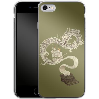 Apple iPhone 6s Silikon Handyhuelle - Unleashed Imagination von Enkel Dika