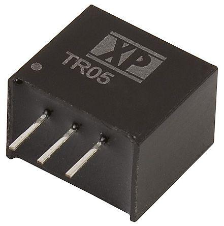 XP Power Through Hole DC-DC Switching Regulator, 3.3V dc Output Voltage, 4.5 → 28V dc Input Voltage, 500mA