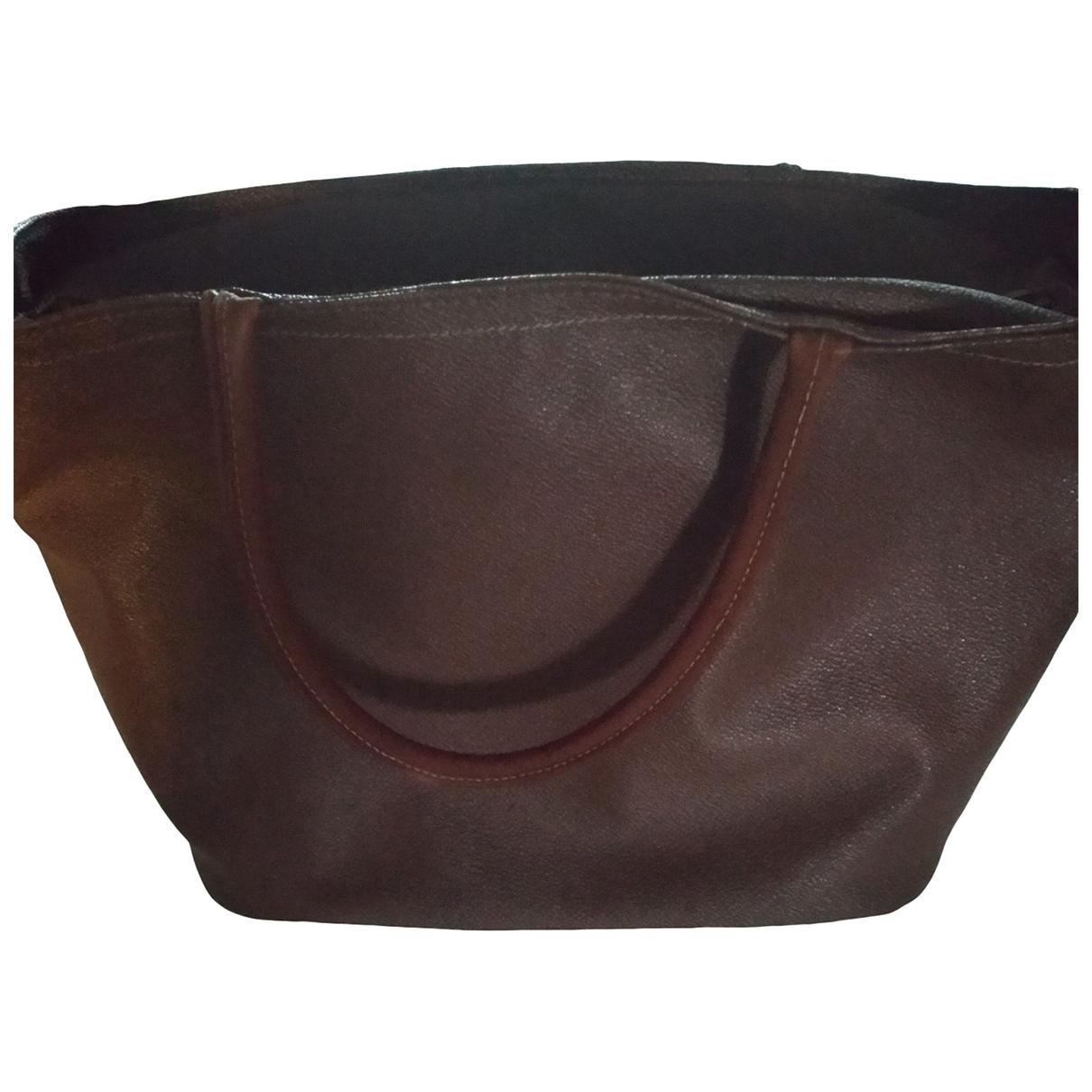 Trussardi \N Brown Cloth handbag for Women \N