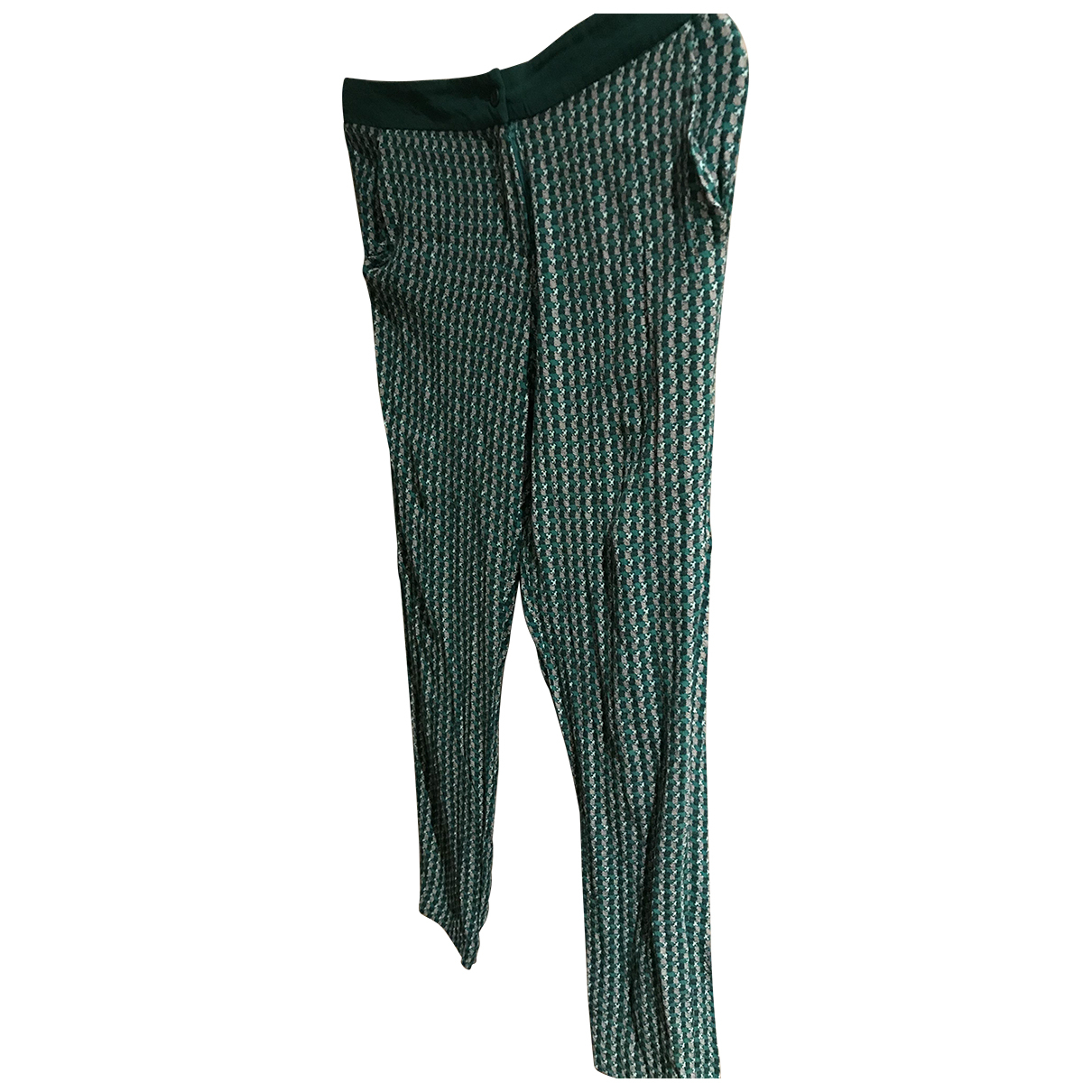 Bel Air N Multicolour Trousers for Women 36 FR