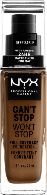 Can't Stop Won't Stop Foundation - Deep Sable (deep w/ neutral undertone)