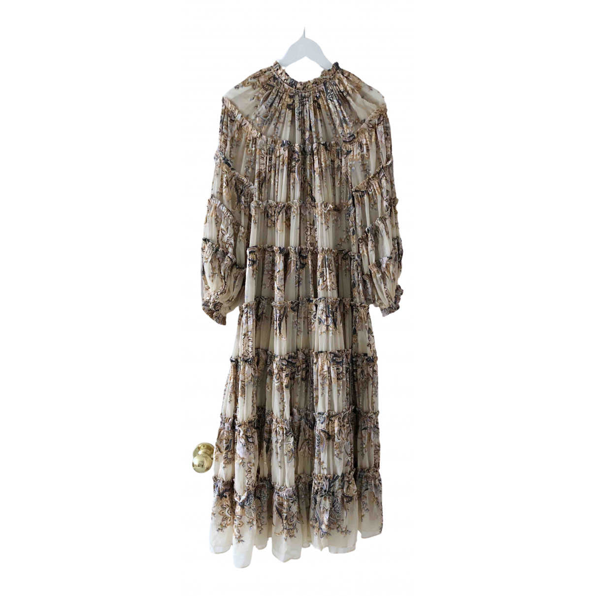 Zimmermann \N Multicolour Silk dress for Women 1 0-5