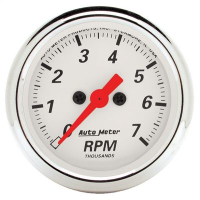 Auto Meter Arctic White Electric Tachometer - 1397