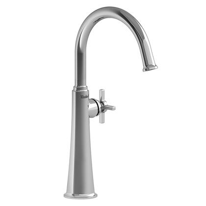 Momenti MMRDL01+C-05 Single Hole Lavatory Faucet with + Cross Handle 0.5 GPM  in