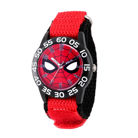 Marvel Marvel Boys Red Strap Watch-Wma000186, One Size , No Color Family