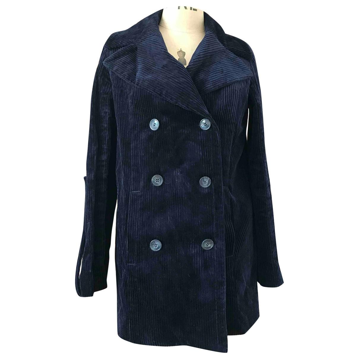 Mira Mikati \N Navy coat for Women 38 FR