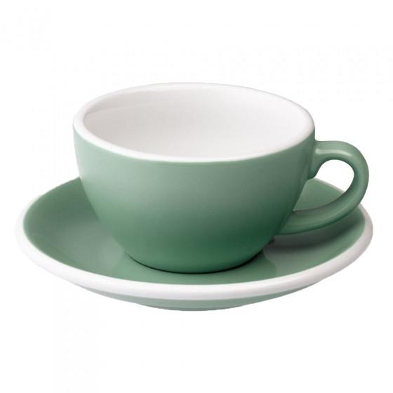 "Cappuccino-Tasse mit Untertasse Loveramics ""Egg Mint"", 200 ml"