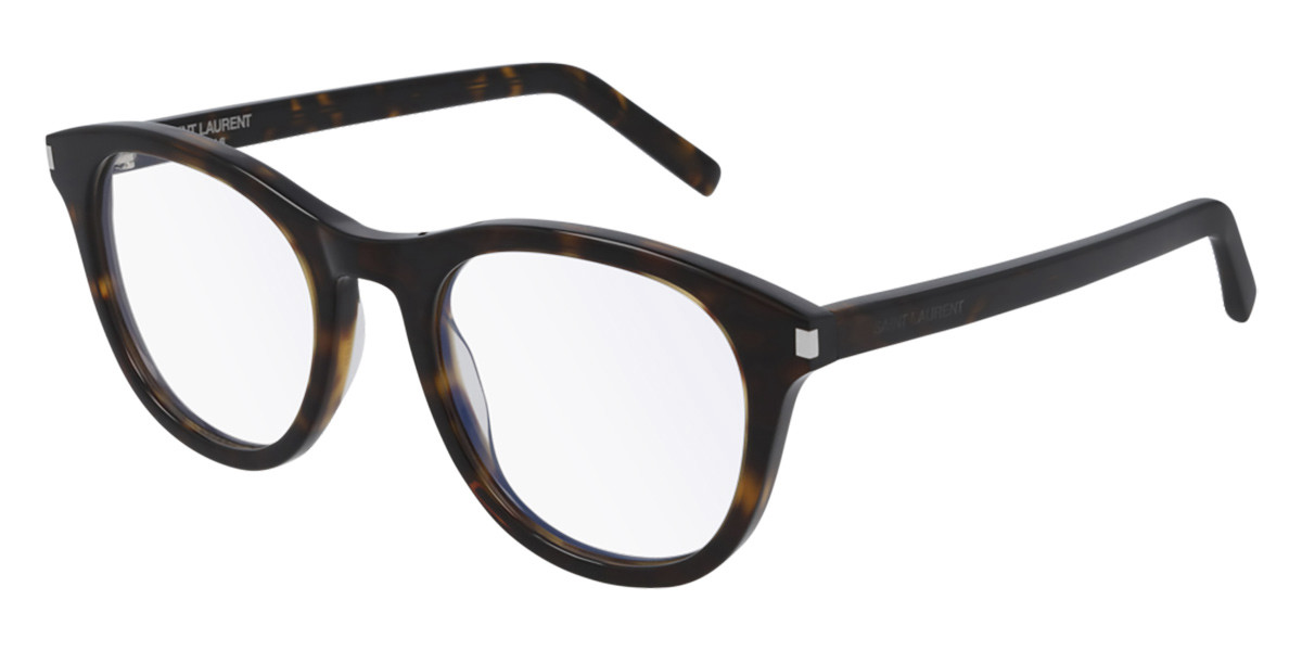 Saint Laurent SL 403 002 Men's Glasses Tortoise Size 51 - Free Lenses - HSA/FSA Insurance - Blue Light Block Available