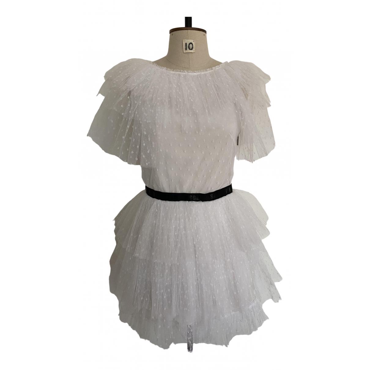 Msgm \N White dress for Women 42 IT