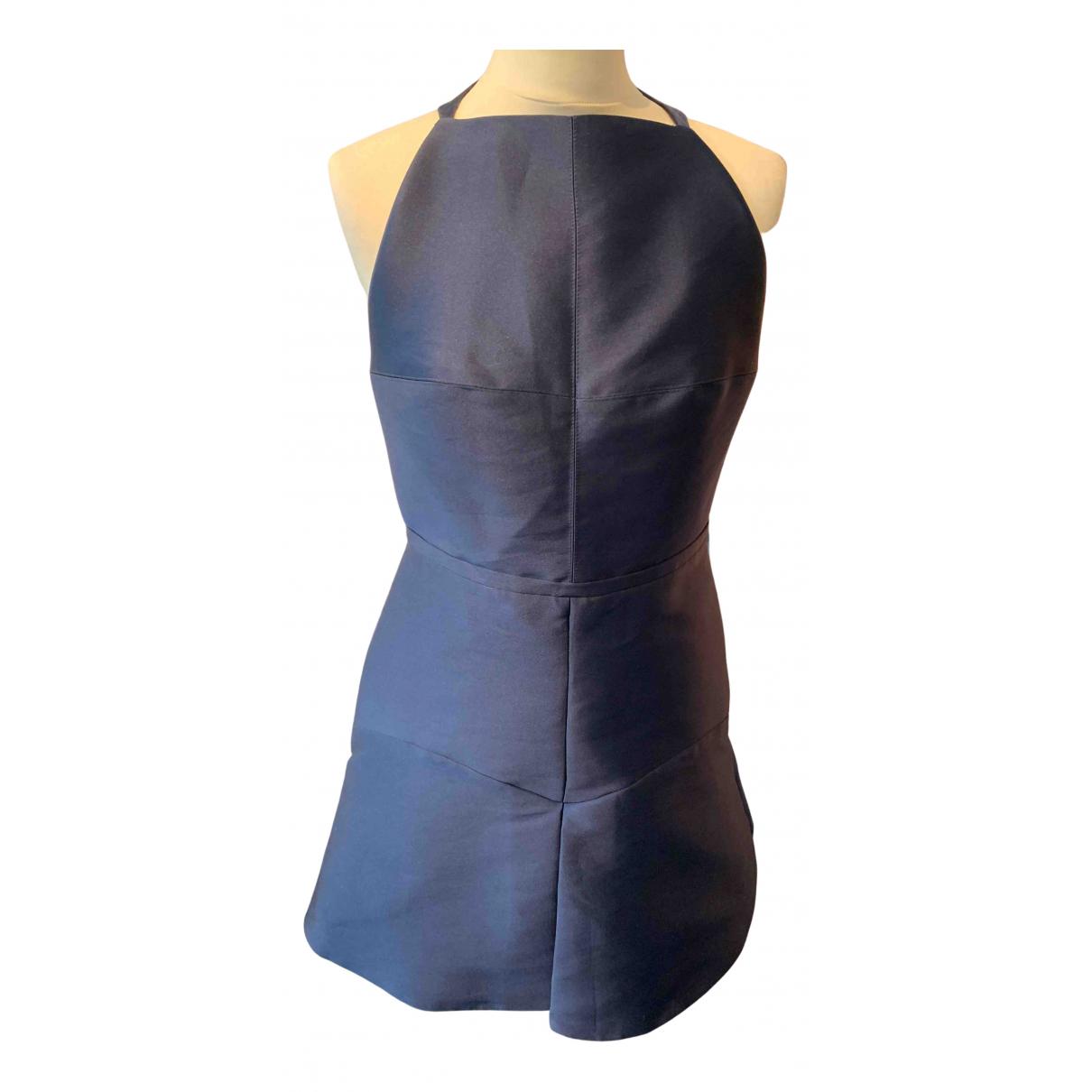 Manning Cartell \N Kleid in  Blau Polyester