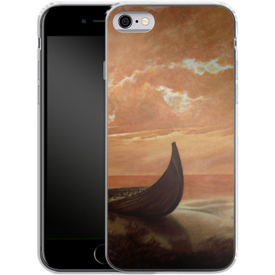 Apple iPhone 6s Silikon Handyhuelle - Bill Plank - Sunset Voyager von TATE and CO