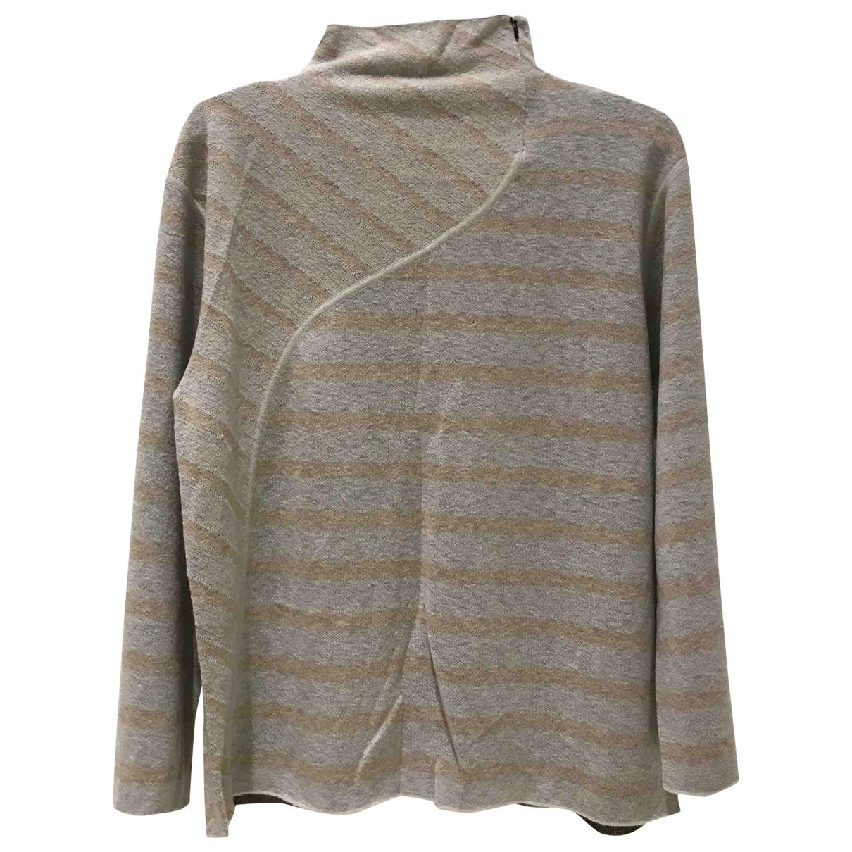 By Malene Birger - Pull   pour femme en laine - beige