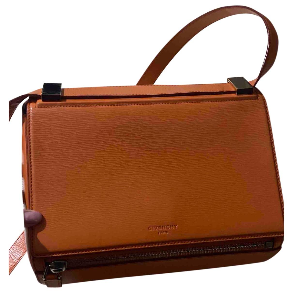 Givenchy Pandora Box Handtasche in  Orange Leder