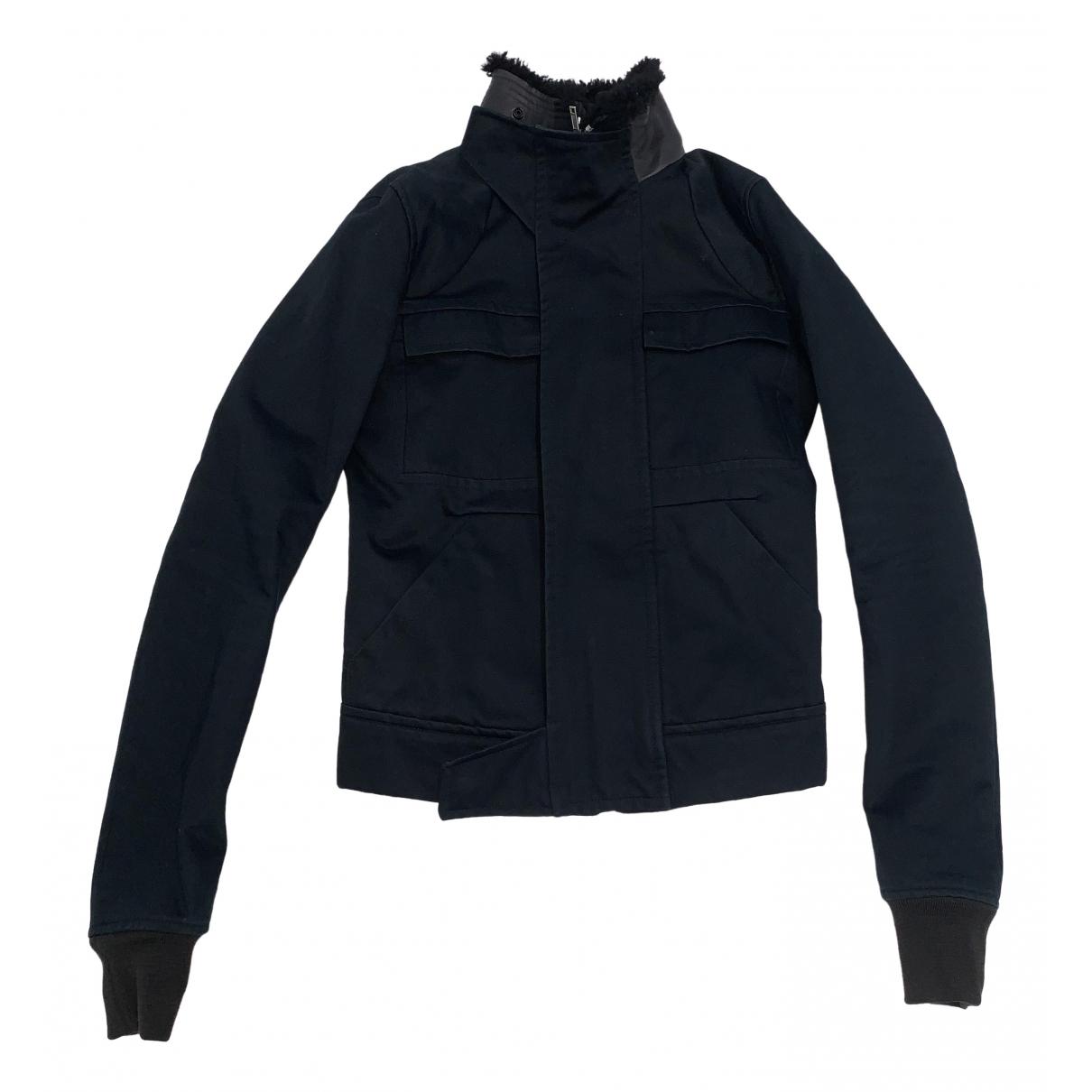 Rick Owens \N Black Cotton jacket  for Men 44 IT
