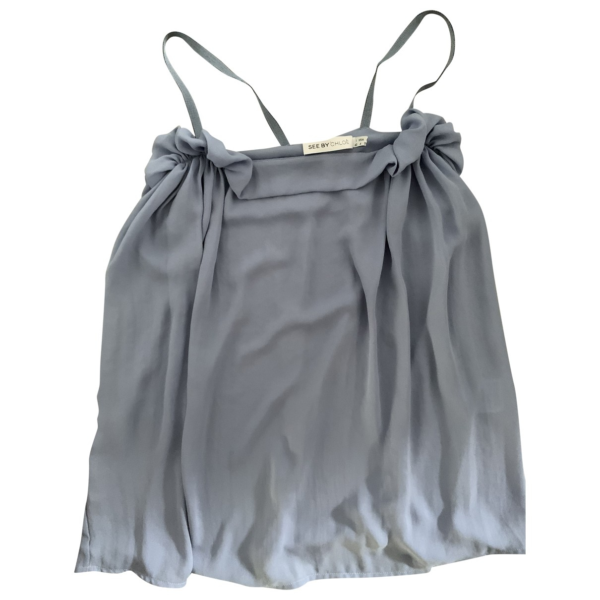 See By Chloe - Top   pour femme - bleu