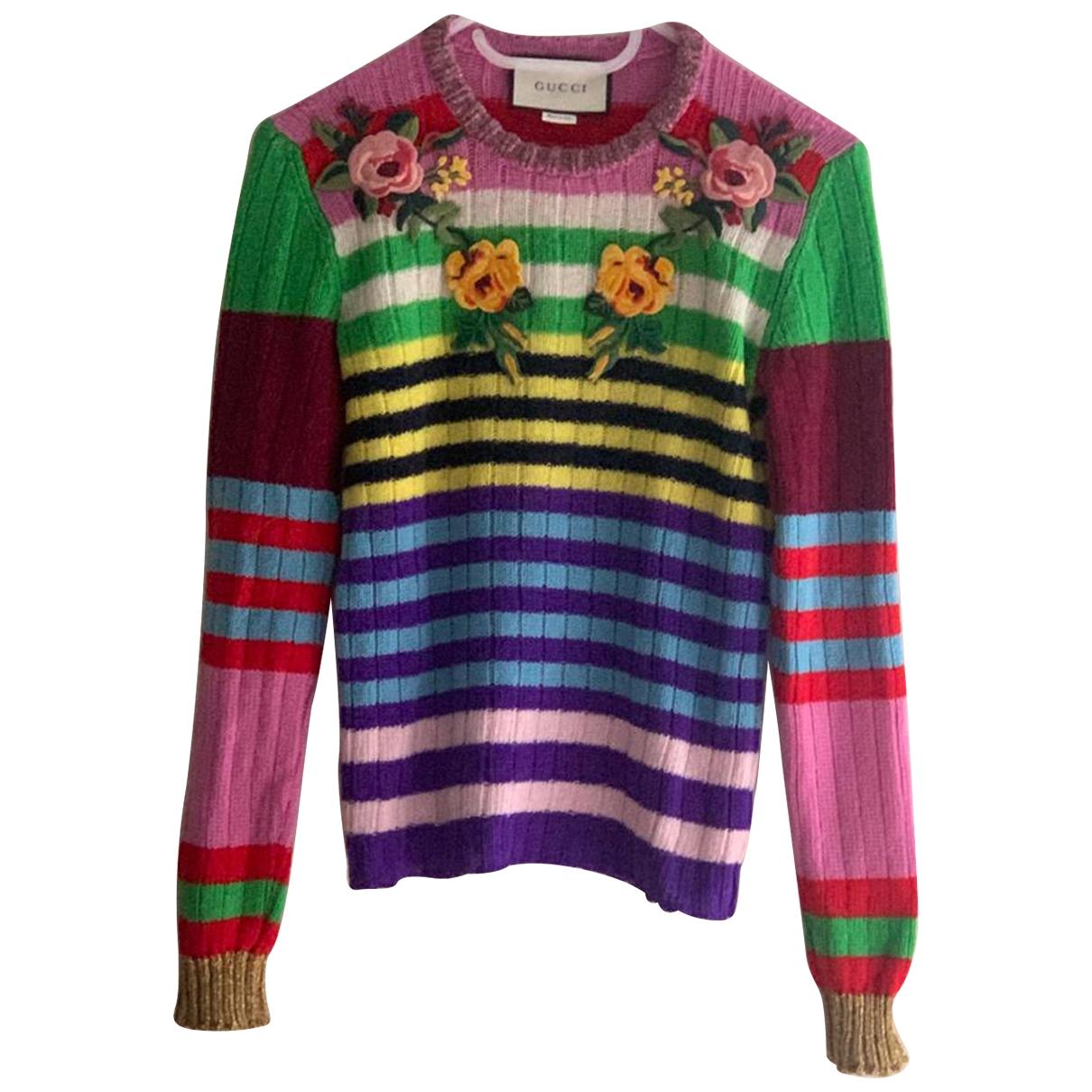 Gucci \N Multicolour Wool Knitwear for Women XS International