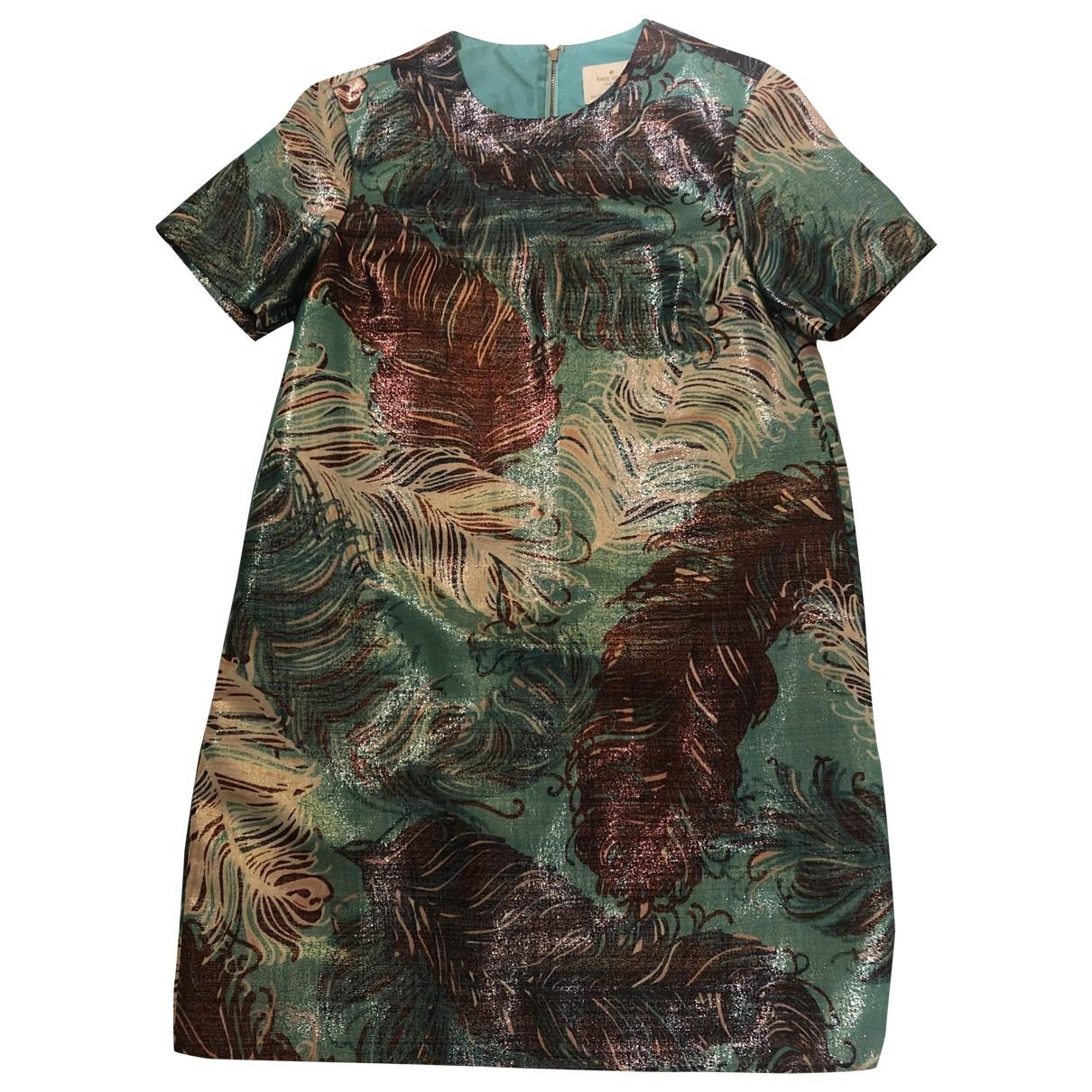 Kate Spade \N Kleid in  Metallic Mit Pailletten