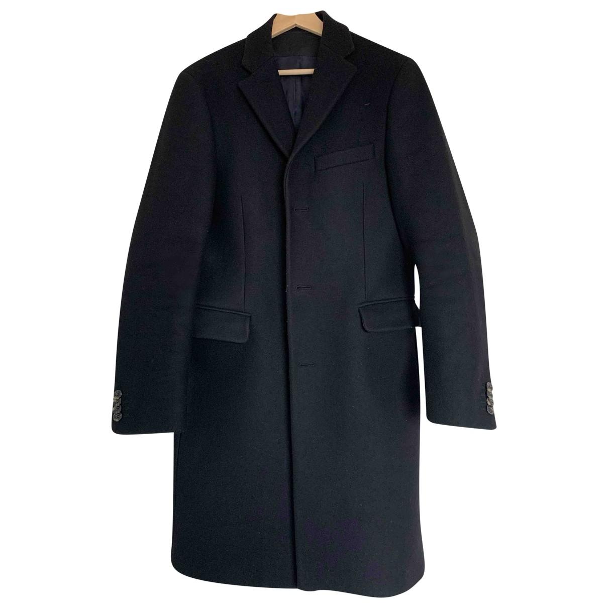 Acne Studios - Manteau   pour homme en laine - noir